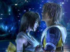 Final Fantasy - Tidus and Yuna by namine-chan-X3