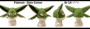 2nd Gen - Shiny Espeon Hat by LiliNeko