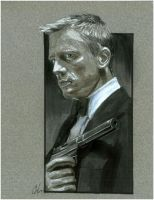 James Bond Con Sketch by gattadonna
