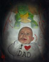 baby portrait by tat2shippey