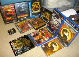 My Mortal Kombat Collection by Nick-Kazama