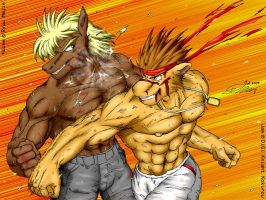 Barehand Fighting never dies by ryuumajin