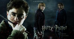 Fan Banner Harry Potter 7 II by amidsummernights