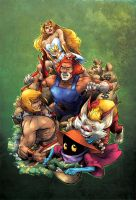 CerealGeek -  ThunderCats vs MotU by oICEMANo