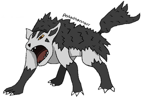 PokeCollab: Mightyena by Assassannerr