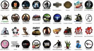 Best 50 PC Game Icons by krkdesigns