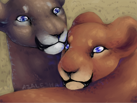 Lionesses by Asalesha