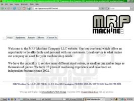 MRP Website and Logo by che4u