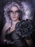 Black Violet by FrostAlexis