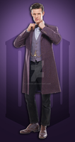 Doctor Who Purple by J4MESG