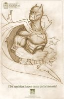 Batman Sketch by deccaart
