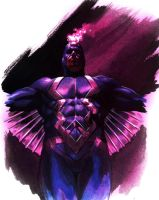 Black Bolt Quickie by felipemassafera