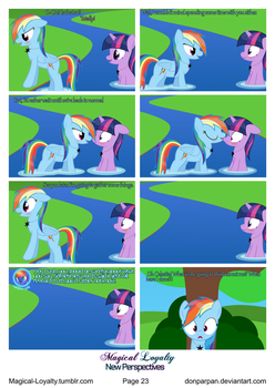 Magical Loyalty - New Perspectives Page 23 by WaveyWaves