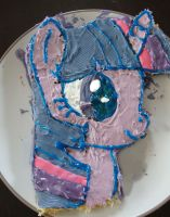 Twiligth Sparkle Cake by AngelofHapiness