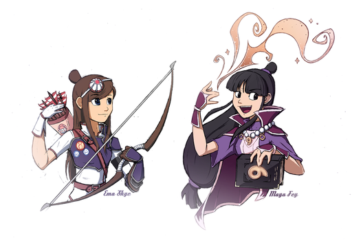 Ace Attorney  2 by Hydro-King