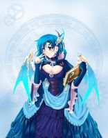 SteamPunk Sailor Mercury by beside-XIV