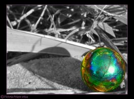 Experiment-Glass and Light 5 by Skullchick