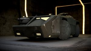 Aliens Armoured Personnel Carrier by yazjack