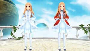 MMD Newcomer Younger Rhea by DanRoarr