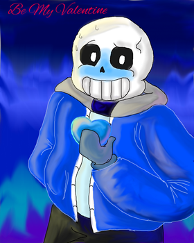 Sans before Valentine's Day by oshare12