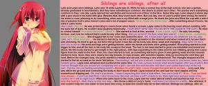 TG Caption - Siblings are siblings, after all by TGcompilation