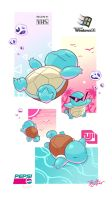 Pkmn-Wave Vol.3// Squirtle's First Trip by PrivateCaller