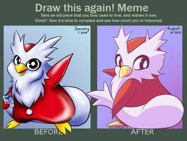 Before and After Meme by ZoeStanleyArts