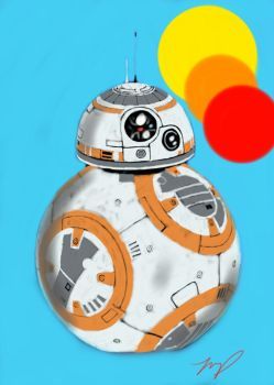 BB-8 by tumiaus