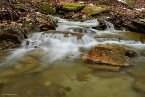 Water and Stones by ashamandour