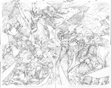 Birds of Prey 34 pages 08 and 09 by robsonrocha