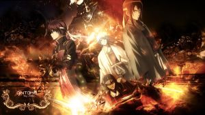 Gintama Wallpaper FULL HD Colored by Sl4ifer