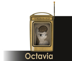 my little bioshock - Octavia message icon by MetaDragonArt
