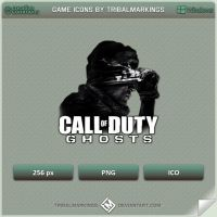COD Ghosts Icon by tRiBaLmArKiNgS