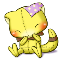 FREE Abra Snuggly (Page Doll) by Sarilain