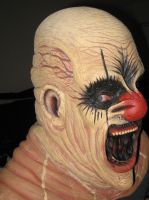 Slumpo the Clown Mask by CarnevaleObscura