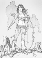 The Huntress by staino