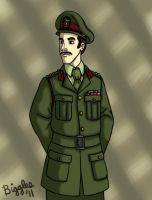 The Brigadier by cardinalbiggles