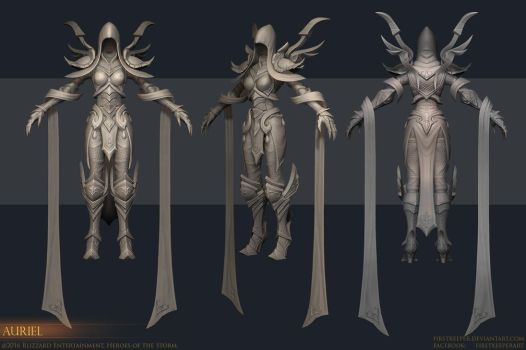 Auriel Sculpt by FirstKeeper