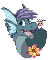 Old Character~Ocean by S-Dragoness