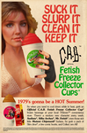 NEW! ~ C.A.B. Fetish Freeze Collector Cups! by CeeAyBee