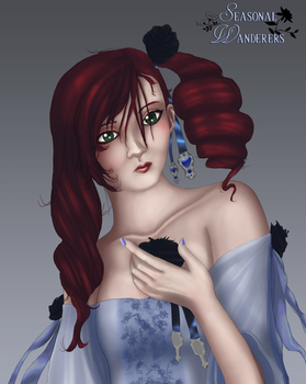 Gothic Beauty by SilverGateForest