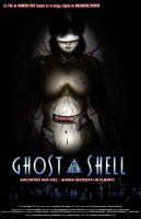 Ghost in the Shell - Afiche by OniAllienGantz6