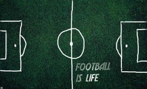 Football is life 2 by beneagle