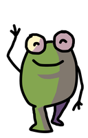 Mr frog by Gamchawizzy