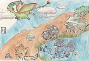 welovepokemon Ground pokemon contest entry by Lillytheeevee