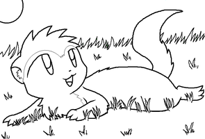 Mongoose adoptables by nukeleer on deviantart for Mongoose coloring page