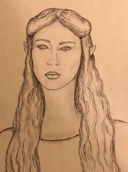 Galadriel lord of the rings Cate Blanchett by conwaysuccess