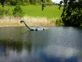 nessie the loch ness monster by Mysteriouspizza