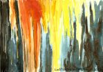 Burning Forest by Ludifico