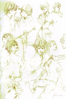 OOFURI sketch page by 0KiWi0